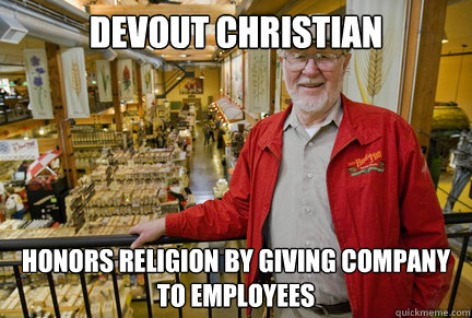 Devout Christian Honors Religion By giving company to employees - Devout Christian Honors Religion By giving company to employees  Misc