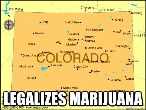 Legalizes Marijuana