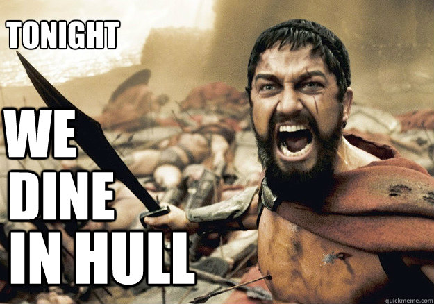 WE dine in hull Tonight