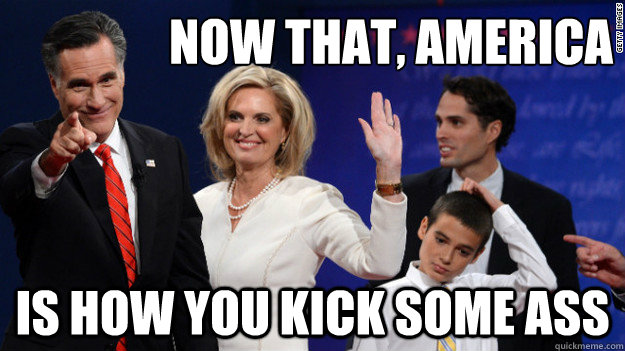 NOW that, America is how you kick some ass - NOW that, America is how you kick some ass  Misc