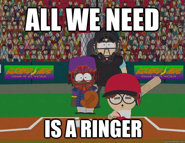 All we need Is a ringer - All we need Is a ringer  Misc