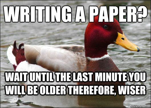 Aviation writing a paper meme