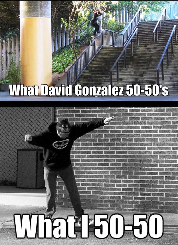 What David Gonzalez 50-50's What I 50-50 - What David Gonzalez 50-50's What I 50-50  Misc
