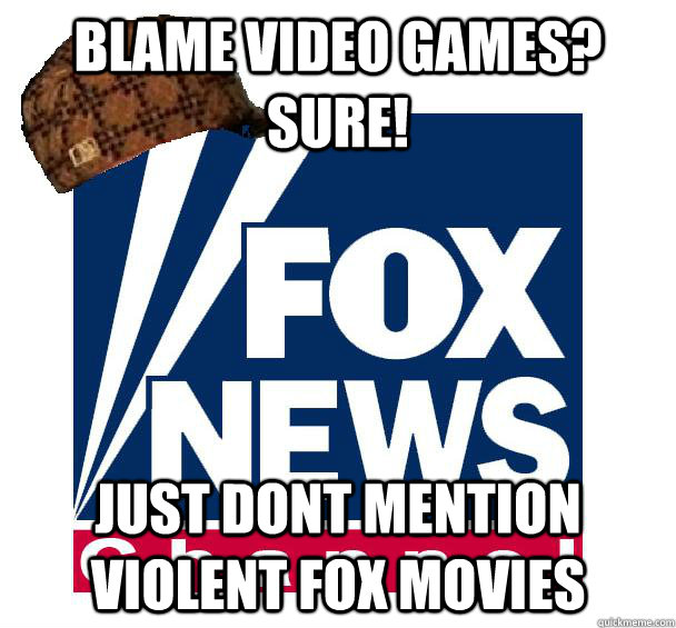 Blame Video Games? Sure! Just dont mention Violent Fox Movies