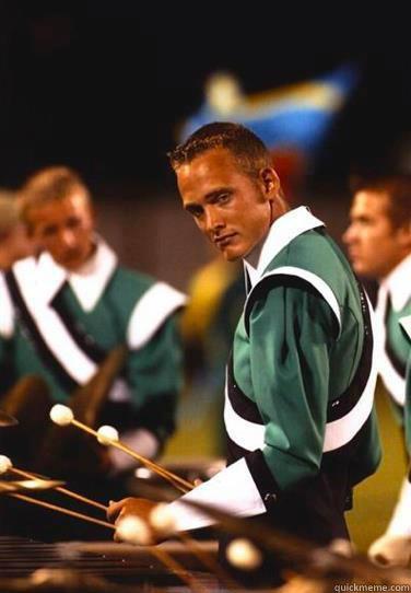 Extremely Photogenic Marimba Guy