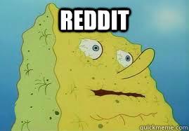 reddit  - reddit   Hangover Spongebob