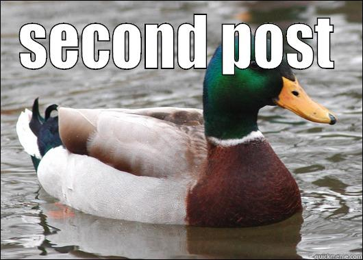 SECOND POST  Actual Advice Mallard