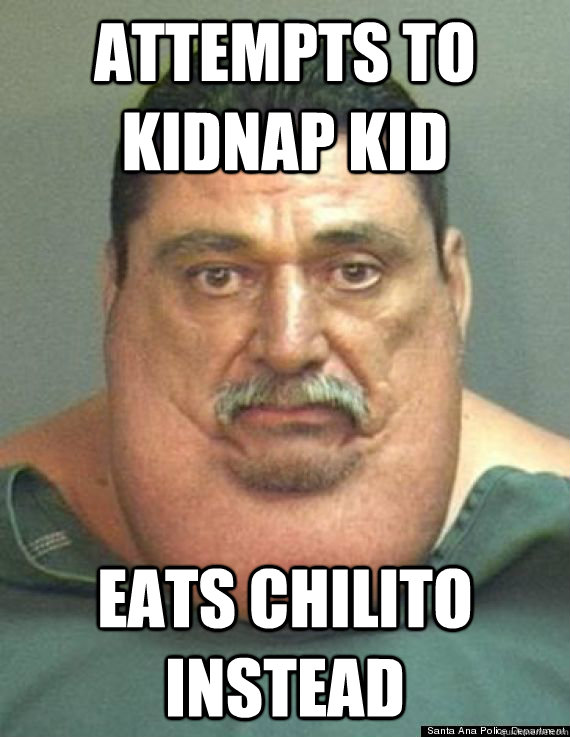 Attempts to kidnap kid eats chilito instead - Attempts to kidnap kid eats chilito instead  425 Pedo