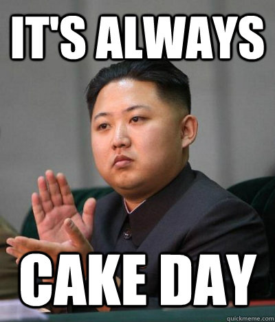 It's always Cake day