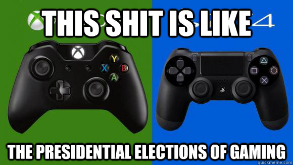 This shit is like the presidential elections of gaming - This shit is like the presidential elections of gaming  Misc