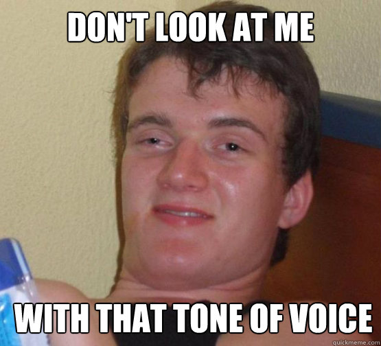 DON'T LOOK AT ME WITH THAT TONE OF VOICE - DON'T LOOK AT ME WITH THAT TONE OF VOICE  10 Guy ordering Pizza