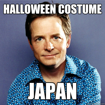 halloween costume japan
