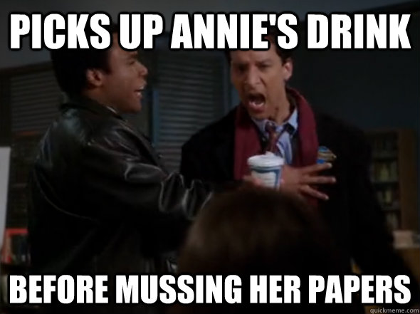 are abed and annie dating advice