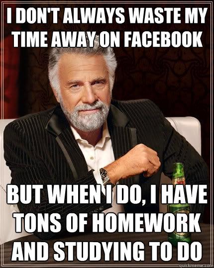 Homework time waste