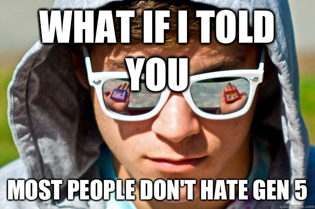 What if I told you Most people don't hate Gen 5 - What if I told you Most people don't hate Gen 5  Pokemon Morpheus