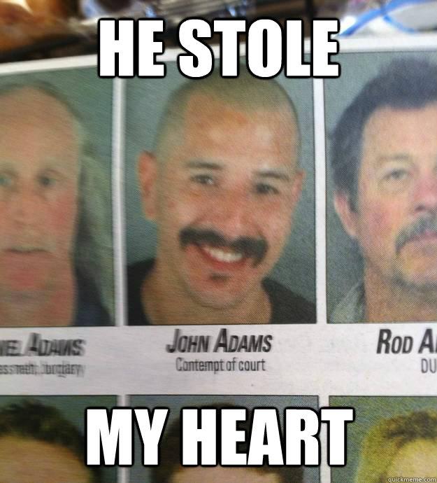 He stole My heart