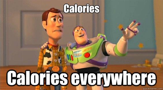 Calories Calories everywhere  lambdas everywhere