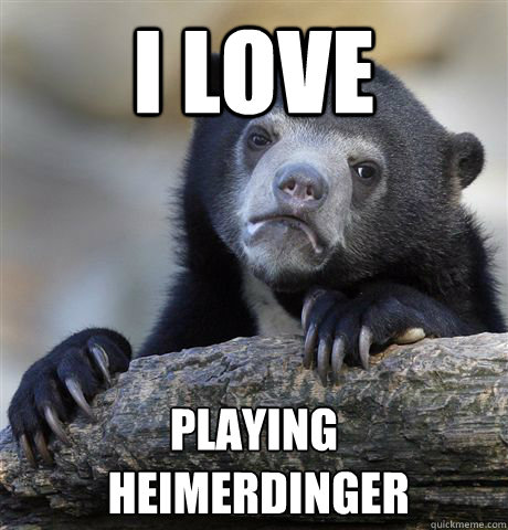 i love playing  heimerdinger - i love playing  heimerdinger  Confession Bear