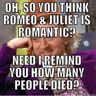 How many people think Romeo and Juliet is hard to understand?