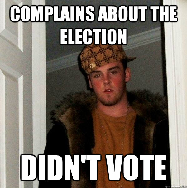Complains about the election Didn't vote - Complains about the election Didn't vote  Misc