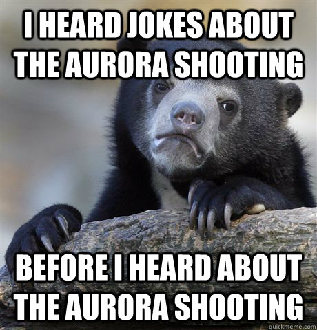 Jokes about killing people he disagrees with Suddenly shuts up ...