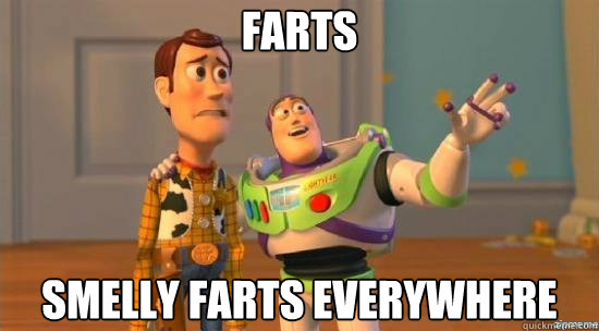 Farts Smelly Farts everywhere