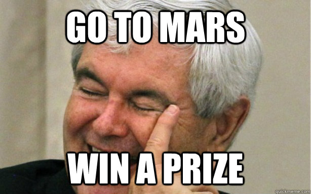 go to mars win a prize