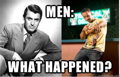 MEN: WHAT HAPPENED?  Men What Happened