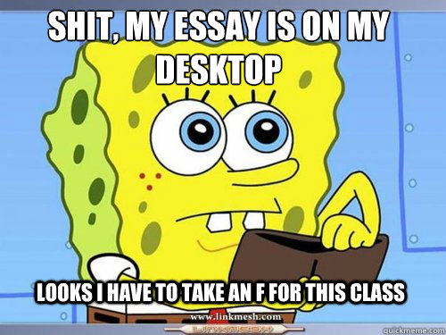 If I get an F on my term paper...?