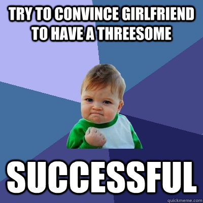 successful threesome