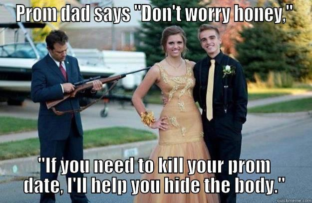PROM DAD SAYS