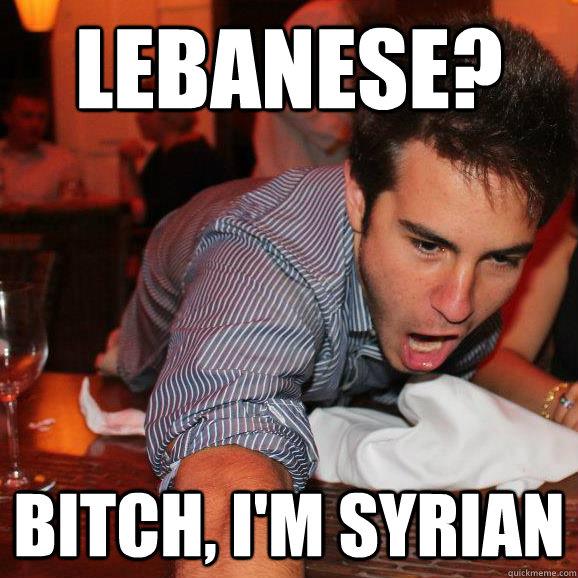 Syrian Bitch