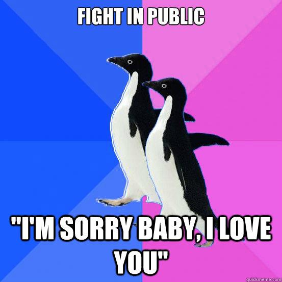 im sorry baby i love you
