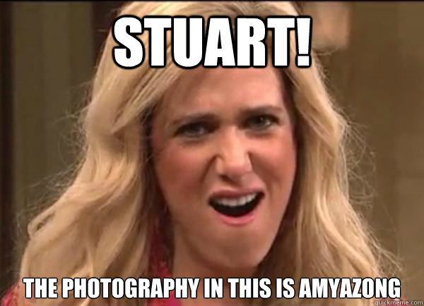 Stuart!  the photography in this is amyazong  Californians