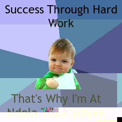 Success Through Hard Work That's Why I'm At Ndola Trust School  - Success Through Hard Work That's Why I'm At Ndola Trust School   Success Kid
