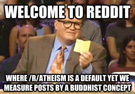 reddit atheism buddhism