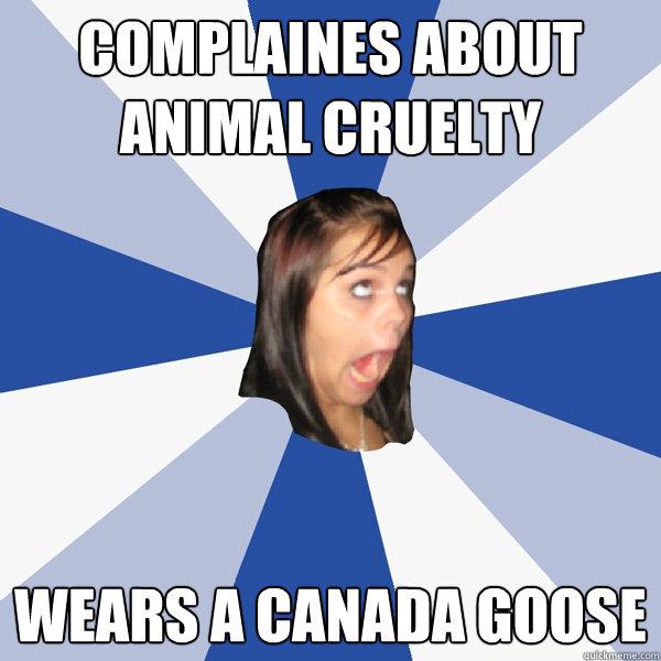 Canada Goose' facebook page
