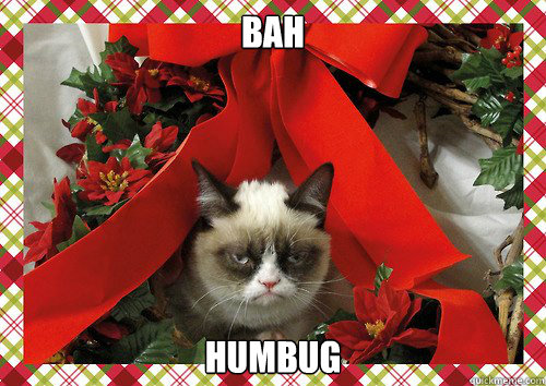 bah humbug - bah humbug  A Grumpy Cat Christmas
