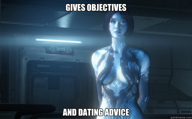 Gives Objectives And Dating Advice  Good Girl Cortana