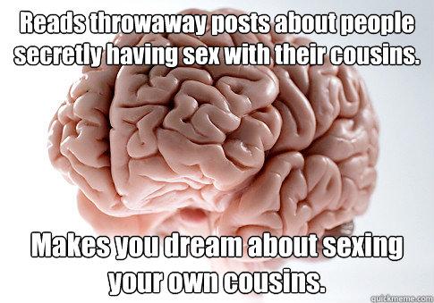 Having sex with cousins people secretly having sex
