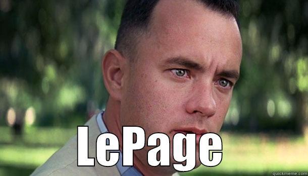 LEPAGE Offensive Forrest Gump