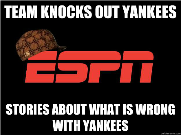 Team knocks out Yankees stories about what is wrong with yankees - Team knocks out Yankees stories about what is wrong with yankees  Misc