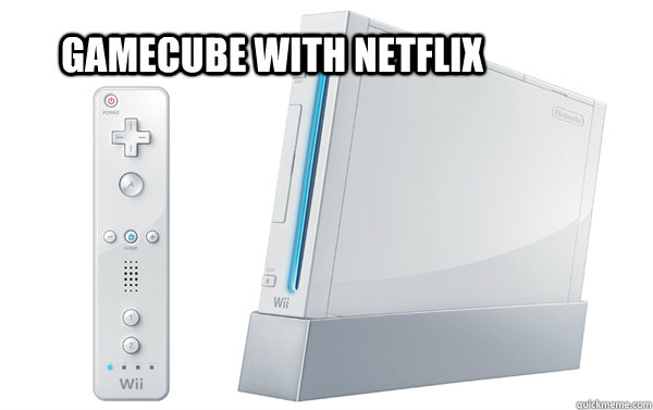 Gamecube with netflix - Gamecube with netflix  Misc