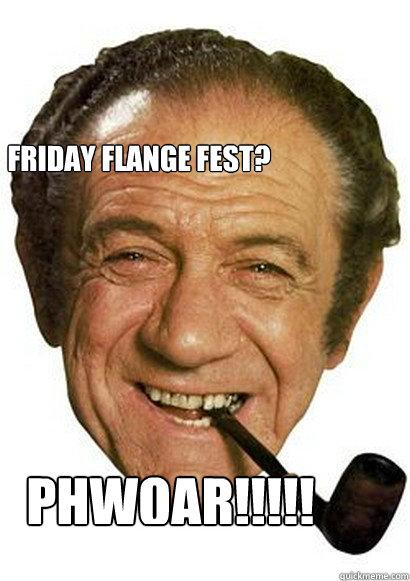 Evil Wolf Face Friday flange fest? Ph...
