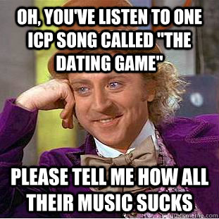 dating game song