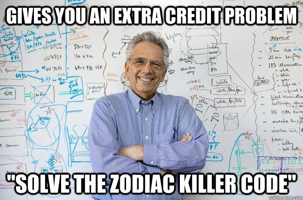66ebf704e1f26466106301f61651df03c435a3906f48e9953ab3143048912f9a gives you an extra credit problem \