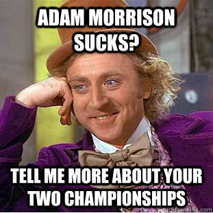 Adam Morrison Meme