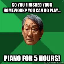 finish homework on time