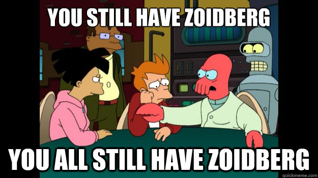 Image result for you all have zoidberg