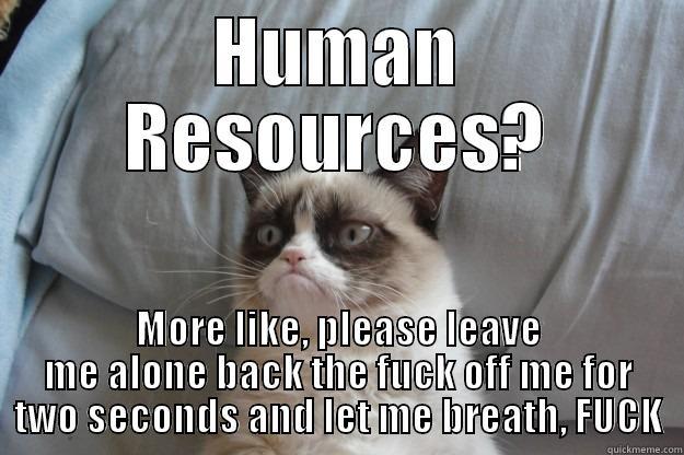 Human resources? - quickmeme
